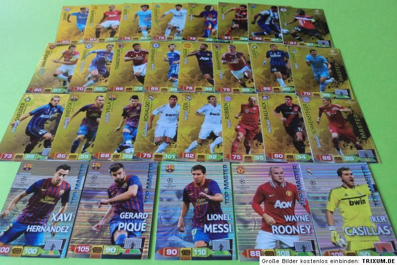 Panini Champions League Cards