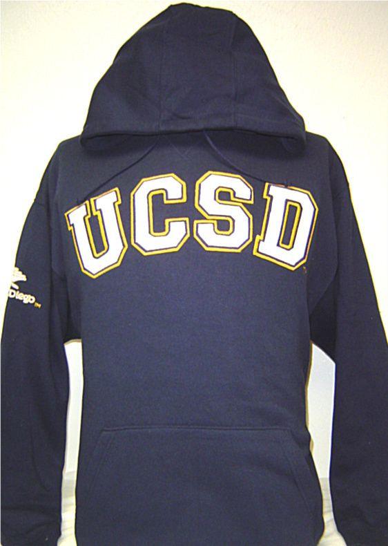 Navy Blue UCSD University of California San Diego Tritons Hoodie