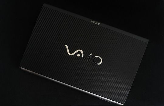 Sony VAIO Z Series Laptop Cover Skin   Carbon